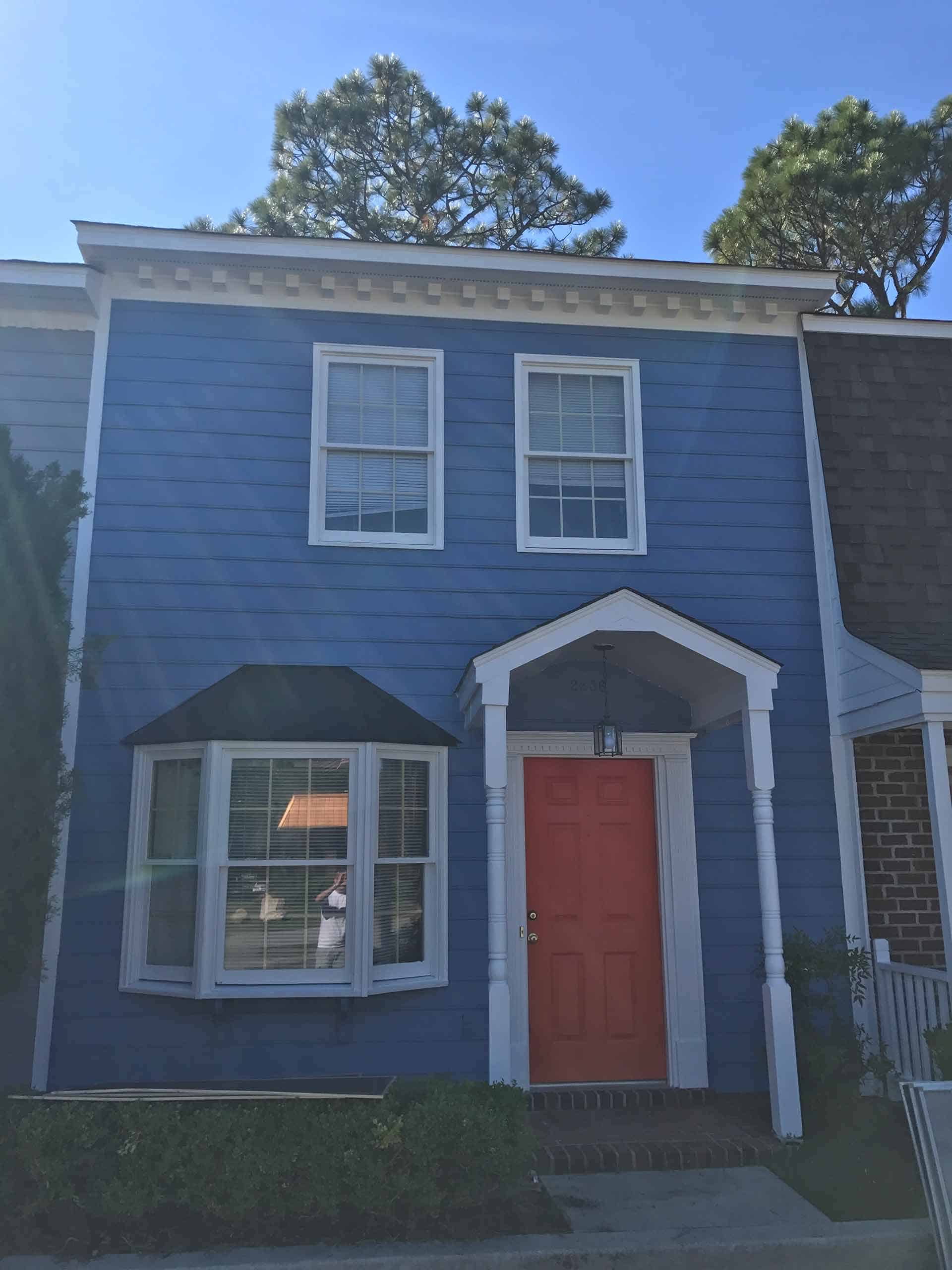 Raleigh Exterior home painting service