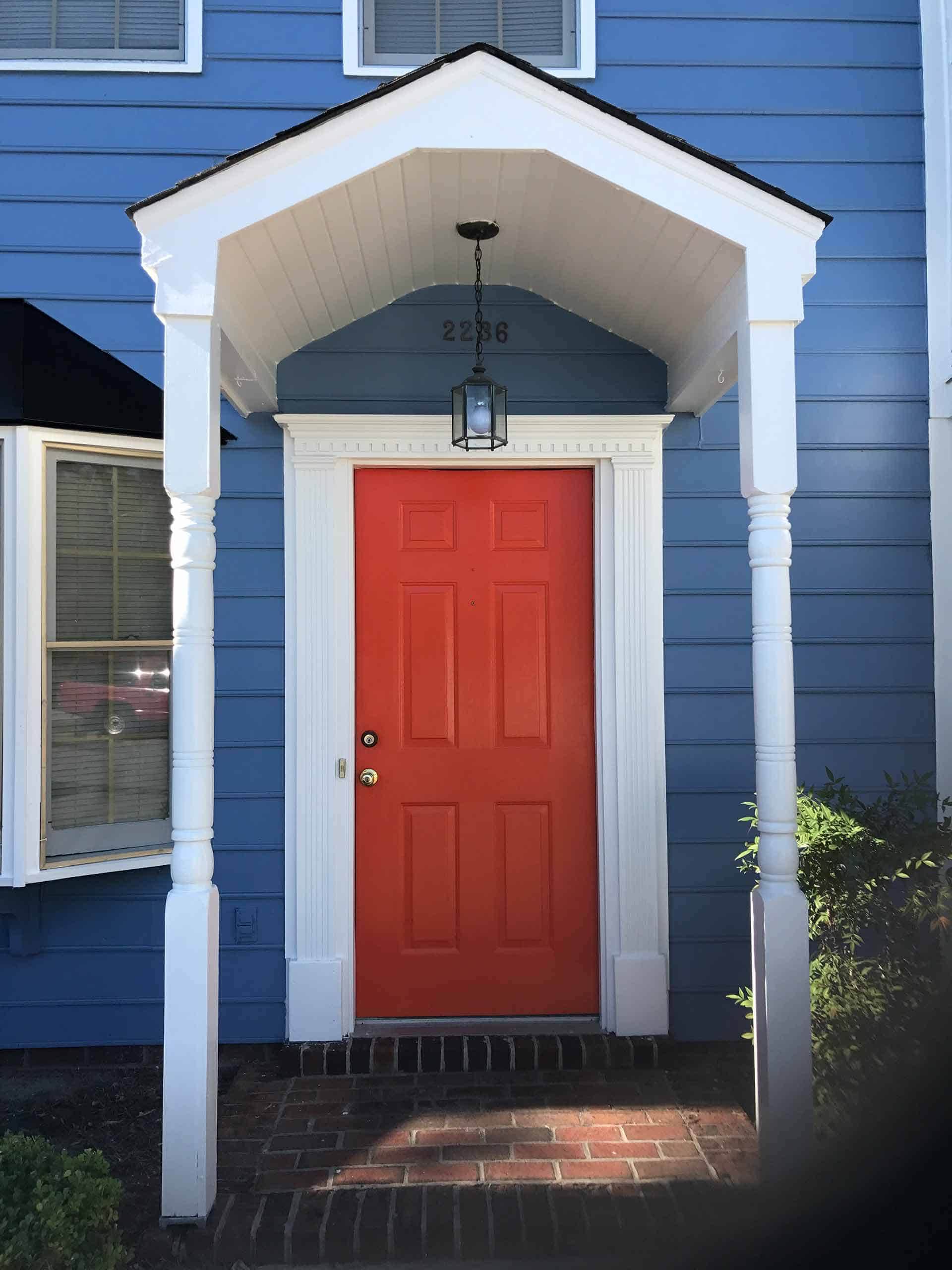 exterior house painting company raleigh