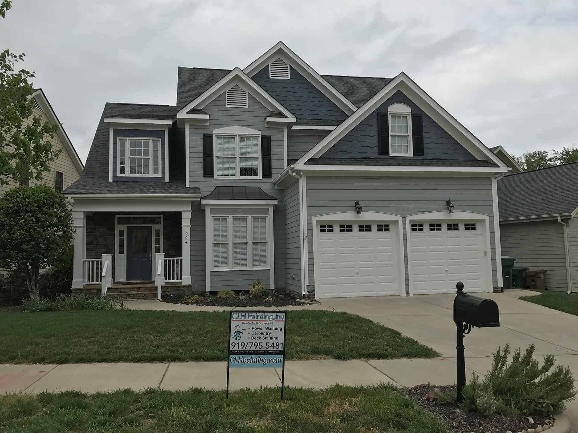 Raleigh house painting contractor