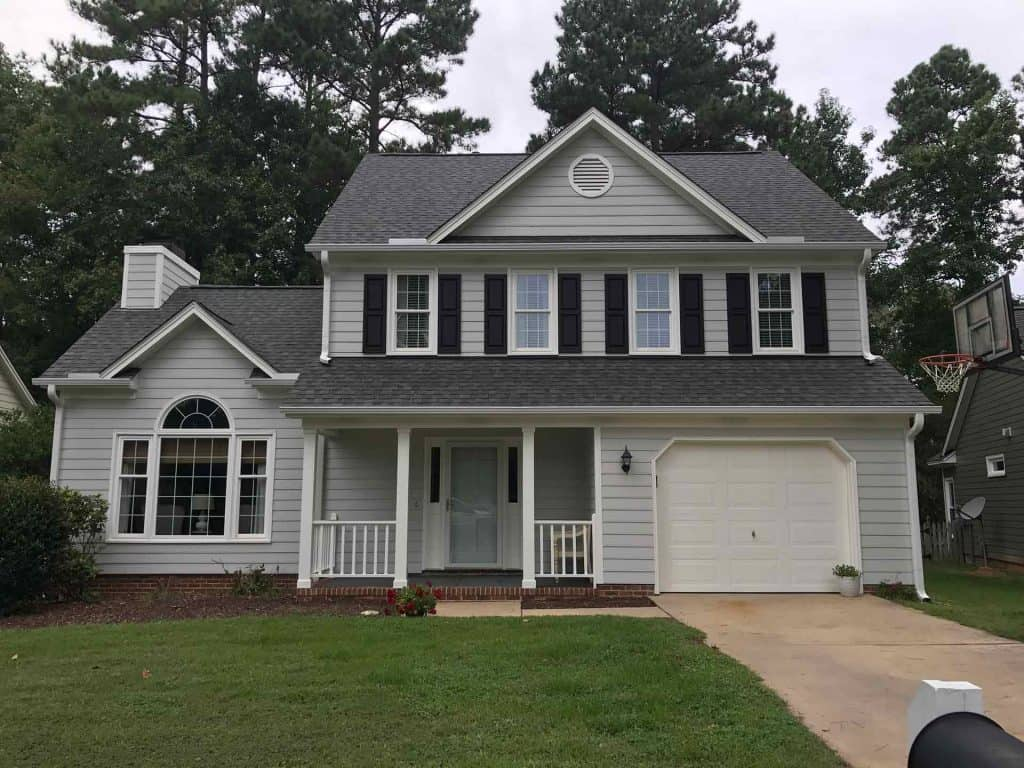 raleigh exterior house painter