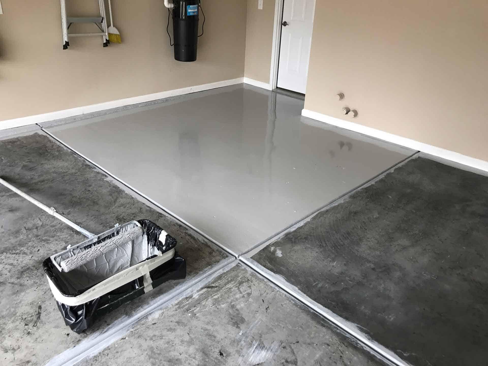 garage floor coating raleigh
