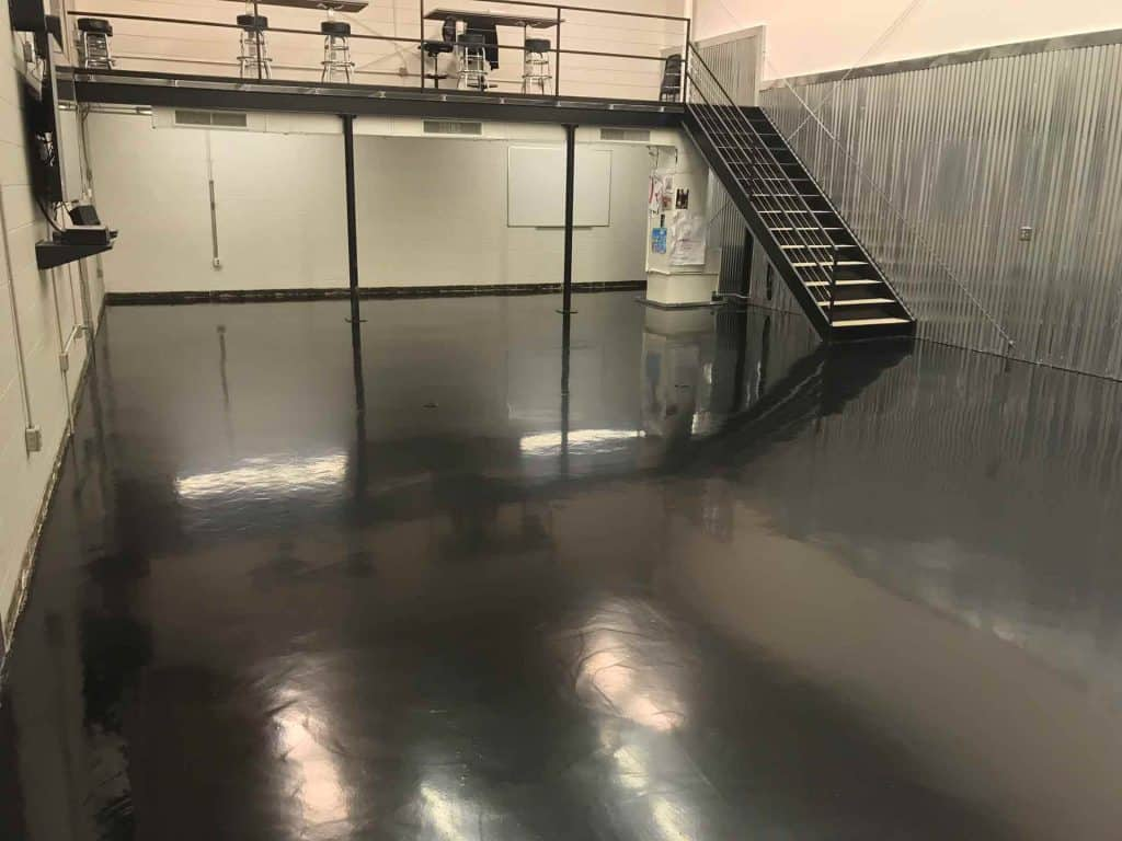 raleigh garage floor painting company