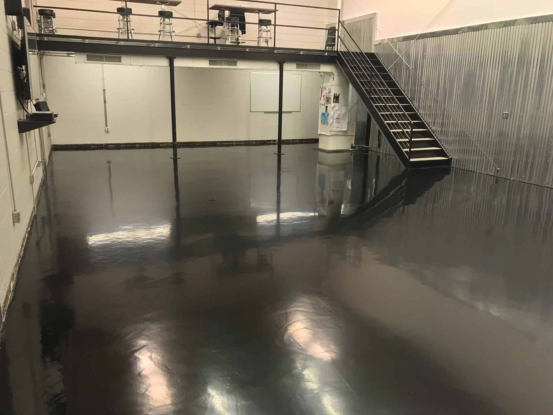 raleigh garage floor painting company