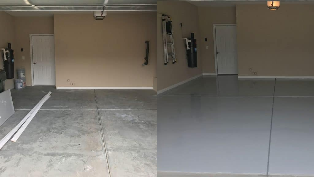 garage floor painting raleigh