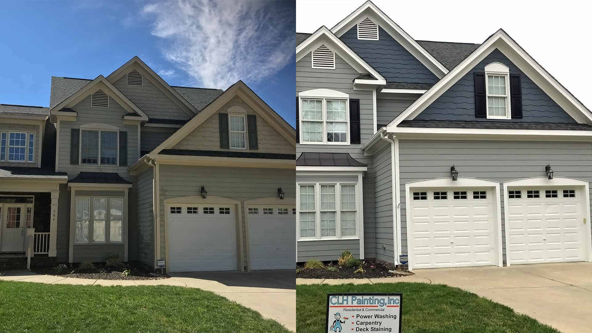 exterior house painter raleigh