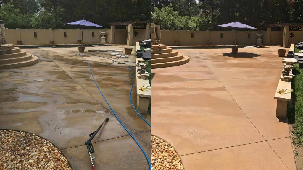 raleigh power washing company