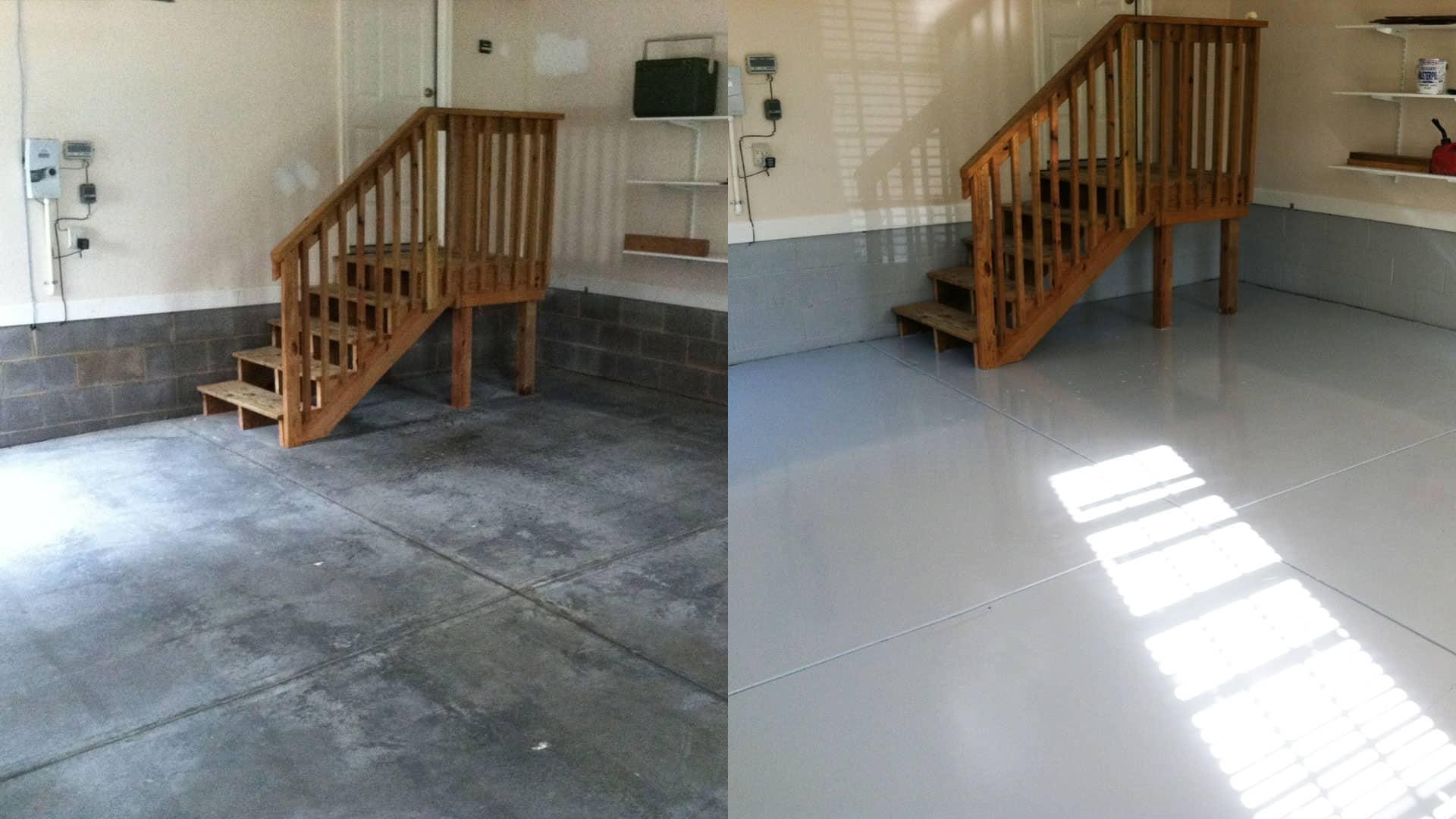 raleigh garage floor epoxy