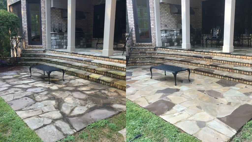 Home pressure washing raleigh