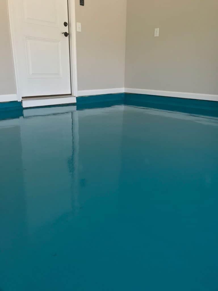 garage floor epoxy in raleigh