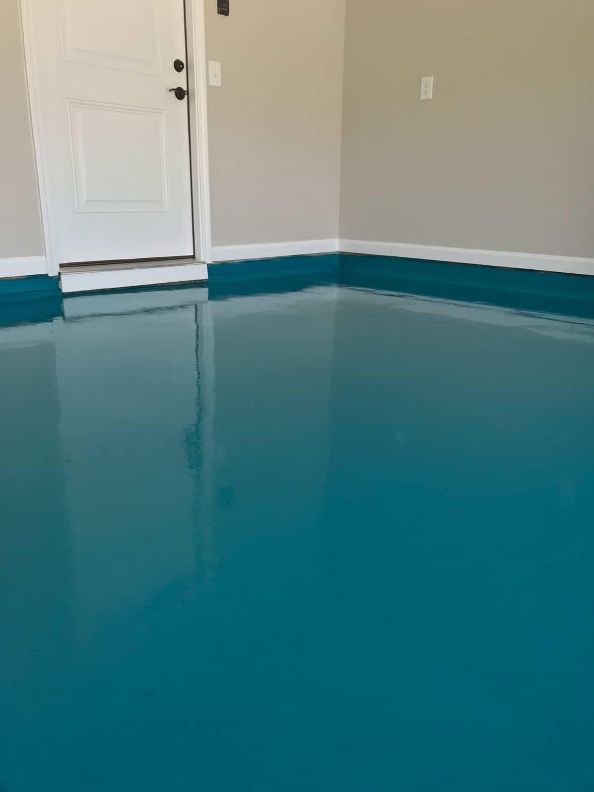 garage floor epoxy in raleigh