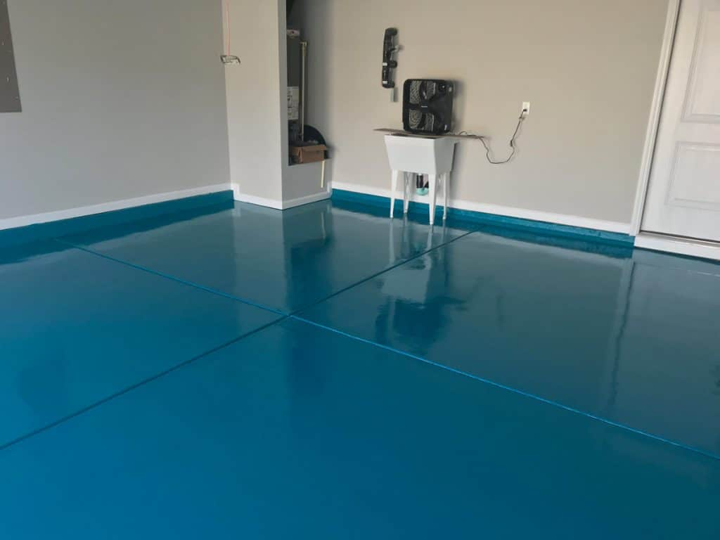 raleigh garage floor epoxy painters