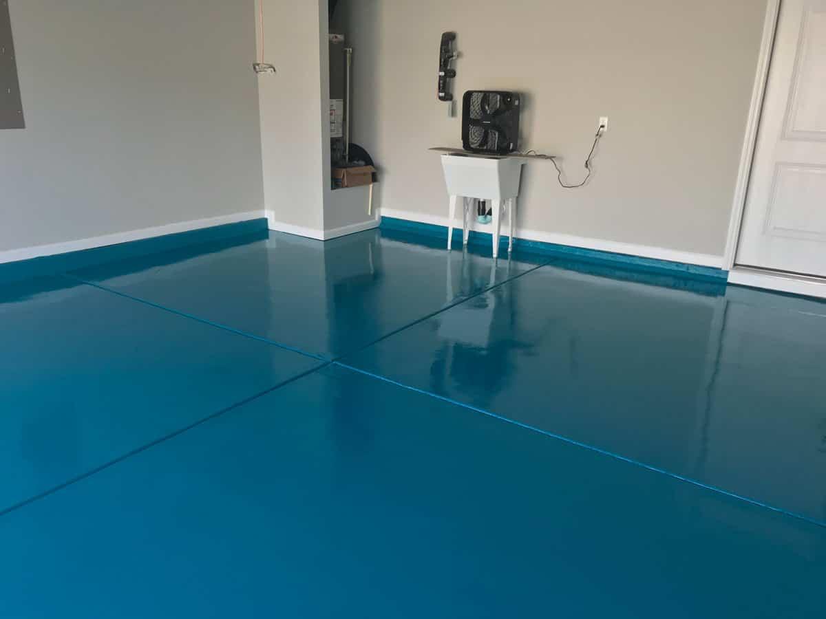 raleigh garage floor epoxy painters