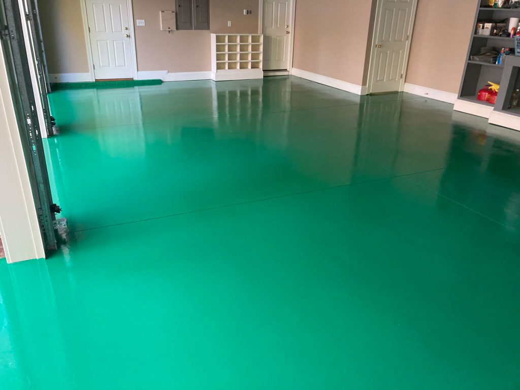 epoxy floor coating contractors raleigh