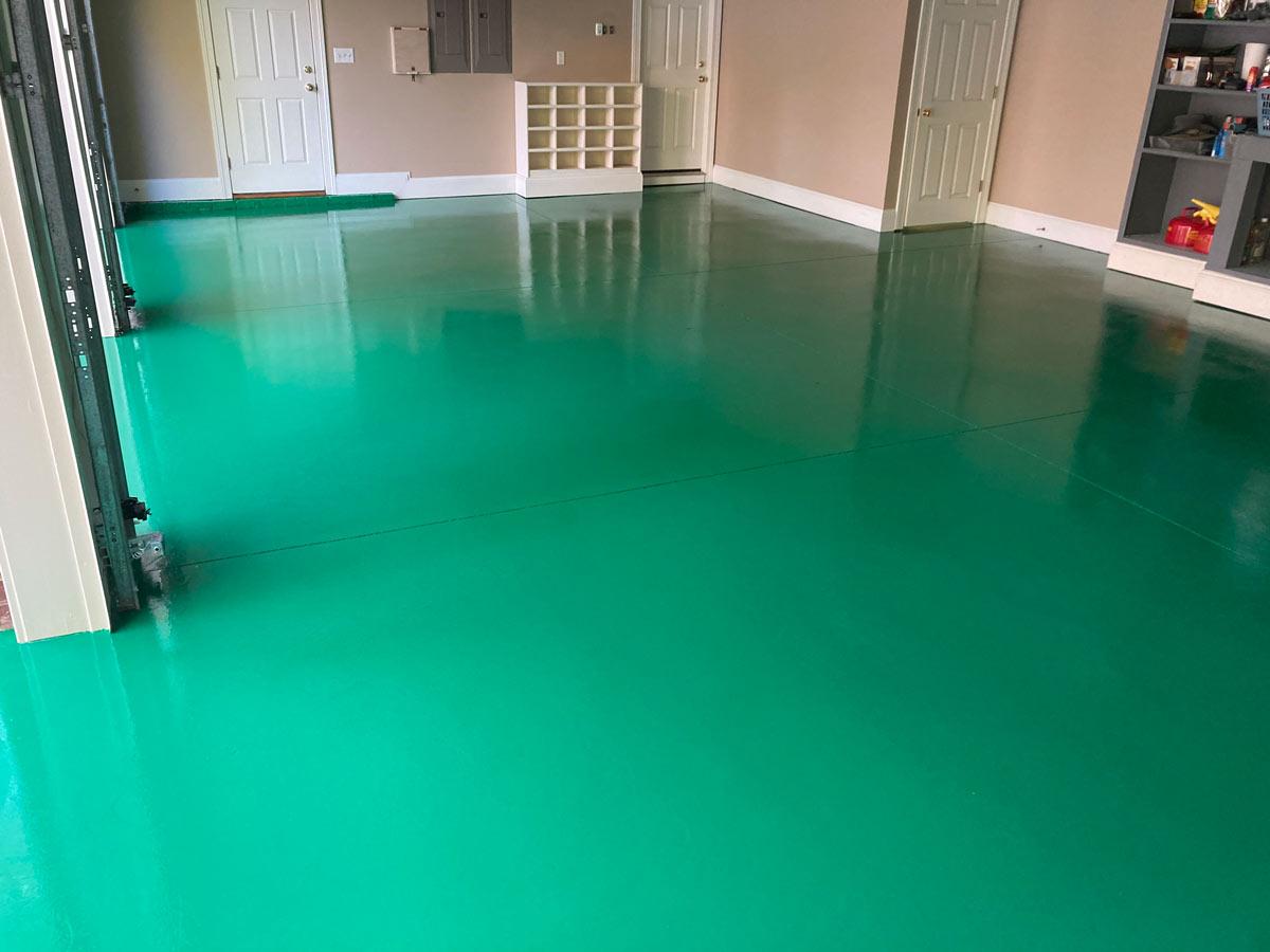 epoxy floor coating contractors raleigh