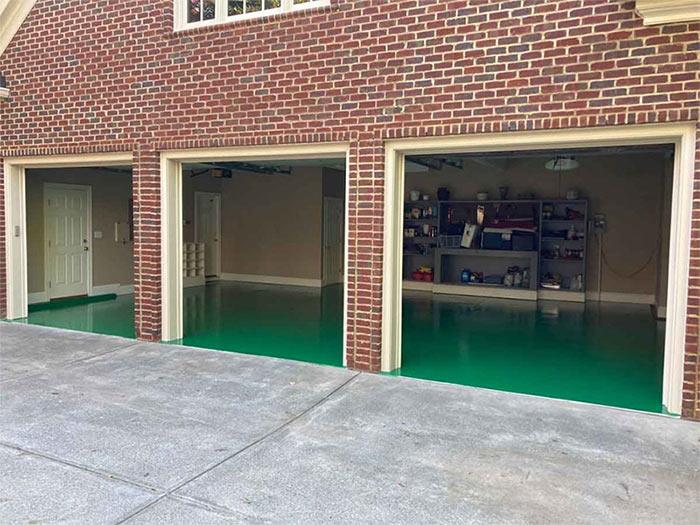 Garage Floor Epoxy Services in Raleigh